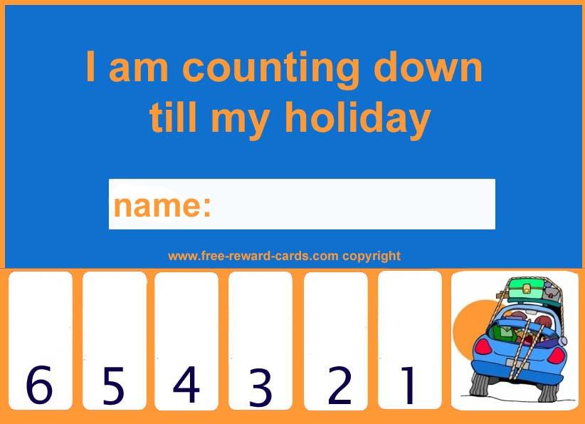 Countdown Calendar Holiday 2 Website