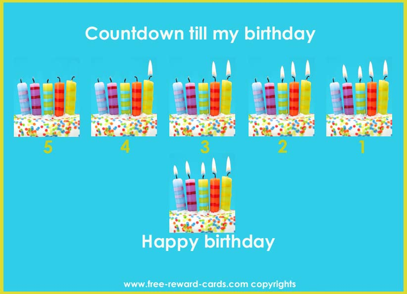 Birthday Countdown Calendar - Website