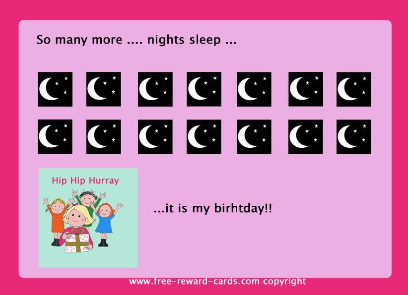 Countdown Calendar Birthday 2 Website