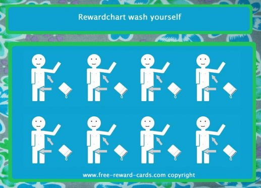reward card wash yourself