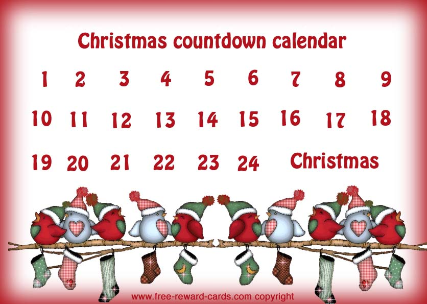 Home website for Make your own christmas countdown calendar