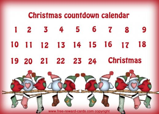 Free Countdown Calendars  Website