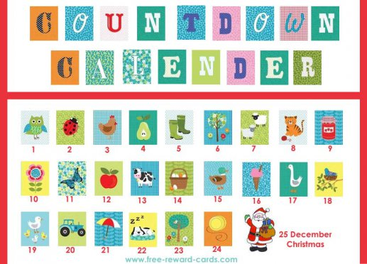 graphic regarding Countdown Calendar Printable named Absolutely free countdown calendars - Net