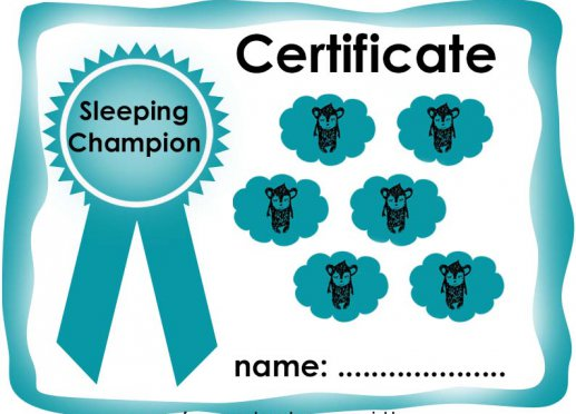 Certificate sleeping