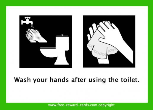 pictogram card hand washing 1