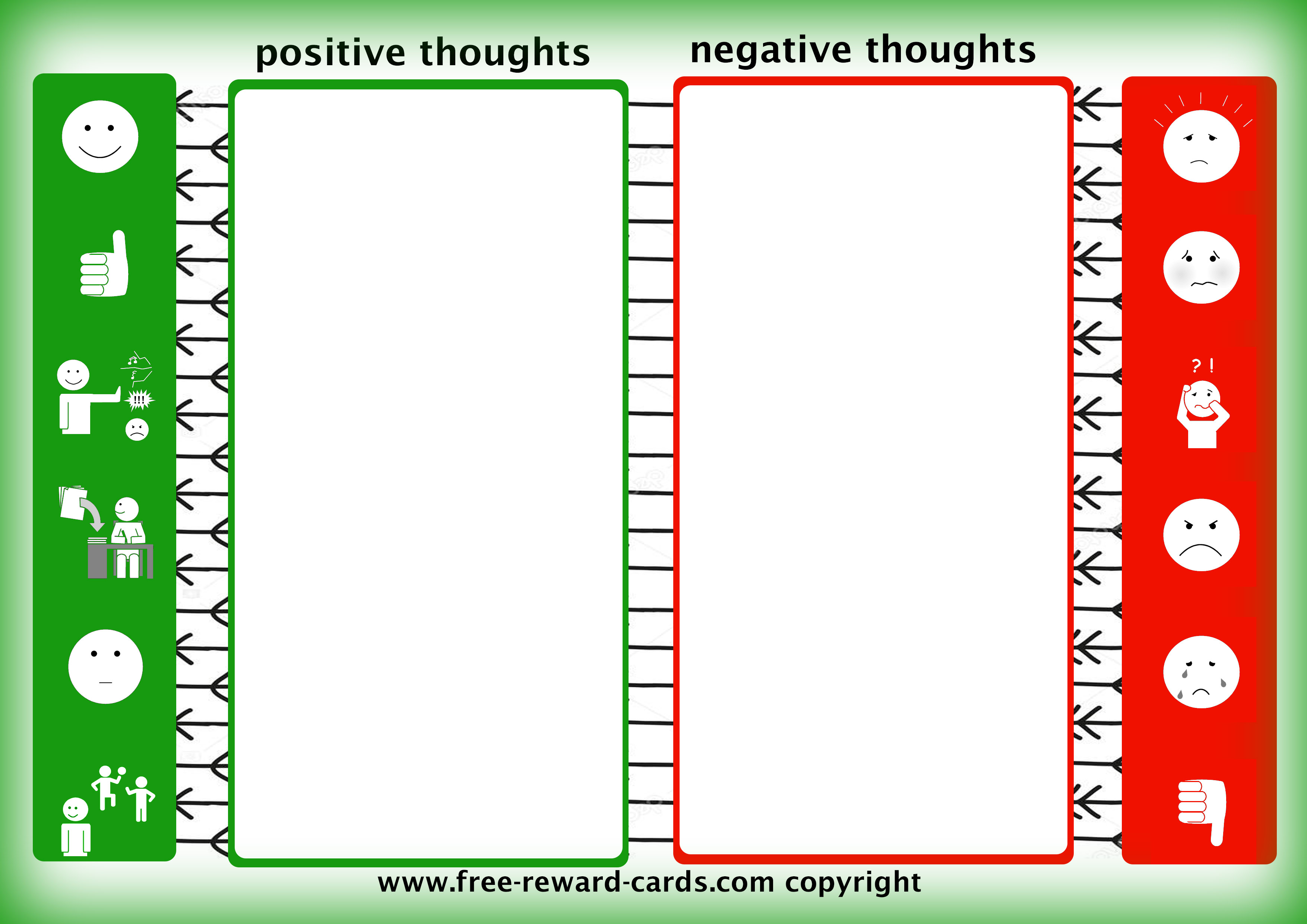 Convert Negative Thoughts Into Positive Thoughts Website
