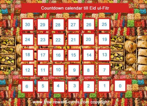 Calendar Eid Ul Fitr : Countdown calendar eid ul fitr website