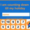 Nice new countdown calendars for Holidays